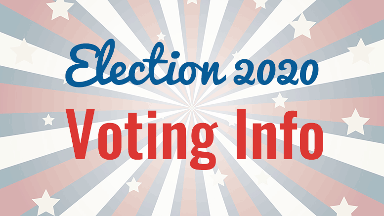Election 2020 voting info