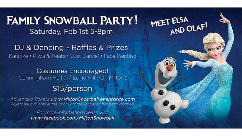 family snowball party