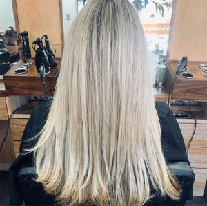 Gervasi & Co hair pic - icy long blond hair highlights