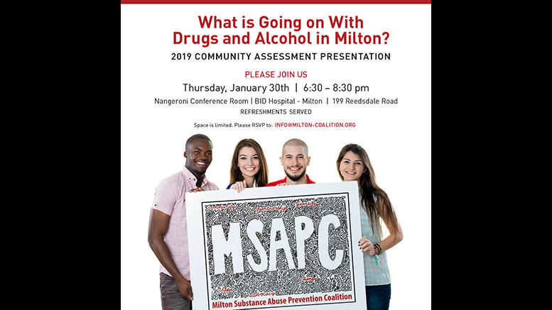 MSAPC to release findings of parent survey on health of 6th - 12th graders at Jan. 30 event