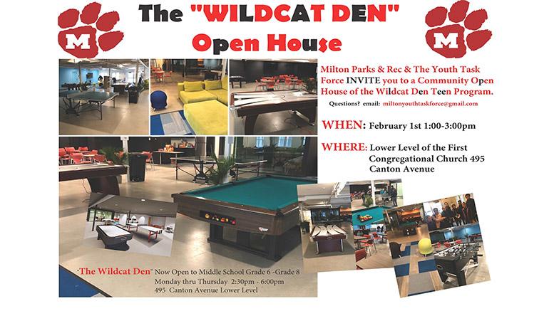 Wildcat den open house