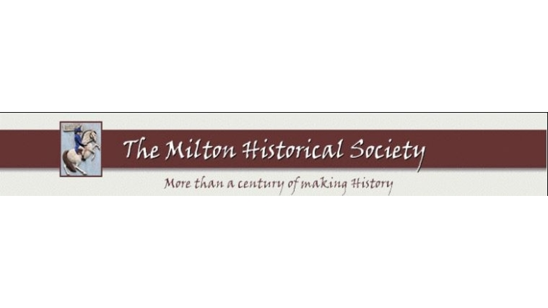 "The Milton Historical Society presents ""An Evening with Eleanor Roosevelt"""