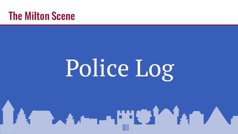 milton police log