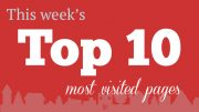 This Past Week's Top 10 Most Visited Pages: February 3-7, 2020
