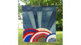 """Milton Public Library presents April exhibit: """"Milton Quilts"""" by Artist Bethany Izard"""