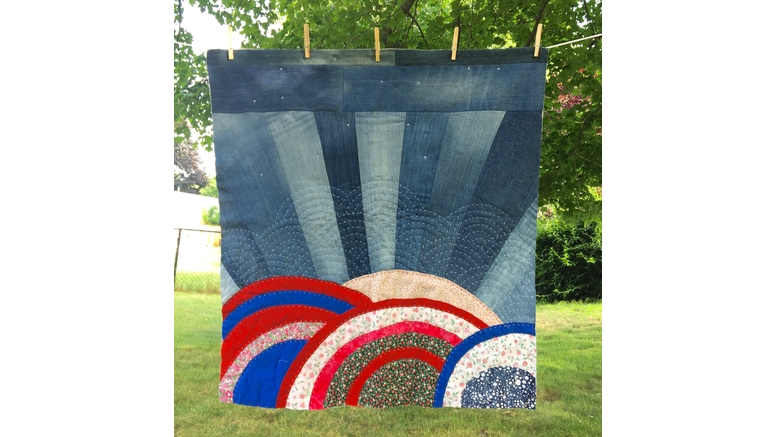 "Milton Public Library presents April exhibit: ""Milton Quilts"" by Artist Bethany Izard"
