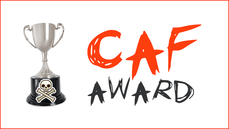 Crazed Alternative Facts (CAF) award