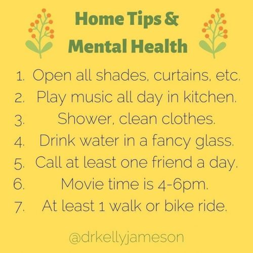 home health tips for mental health