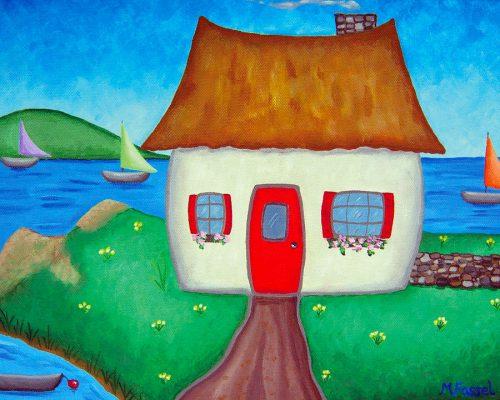 Melissa Fassel Dunn: Irish cottage