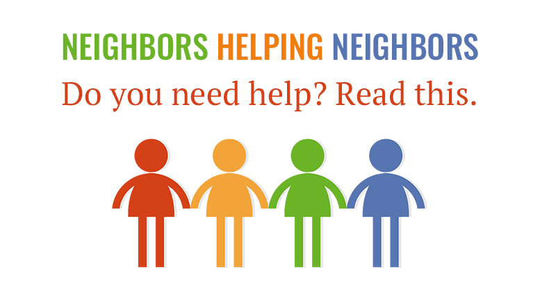 Milton Neighbors: Do you need help with food, mortgage, utilities, etc.? Read this.