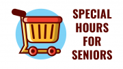 Stop & Shop announces special hours for senior shopping, beginning March 19
