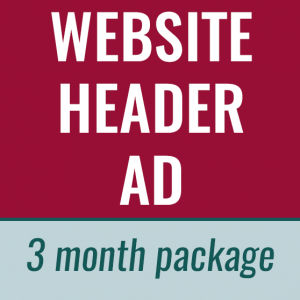 website header ad
