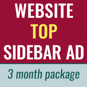 website top sidebar ad