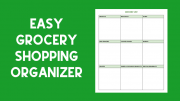 Want to get in and out of the store quickly? Organize your list with this quick download!