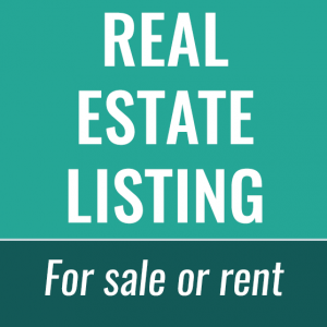 real estate listing store
