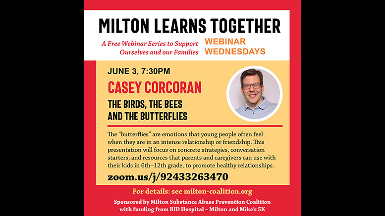MSAPC presents: The Birds, the Bees and the Butterflies - casey corcoran