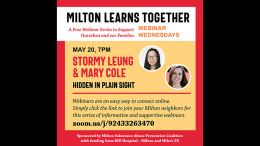 MSAPC presents: Hidden in Plain Sight, Wed. May 20