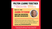 Joanne Peterson: Milton Learns Together MSAPC
