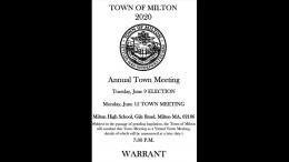2020 Town Warrant