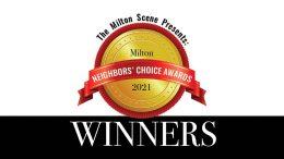 Milton Neighbors Choice Award Winners 2021