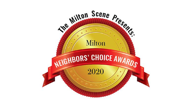 Milton Neighbors Choice Award 2020