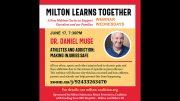 MSAPC presents: Athletes and Addiction: Making Injuries Safe