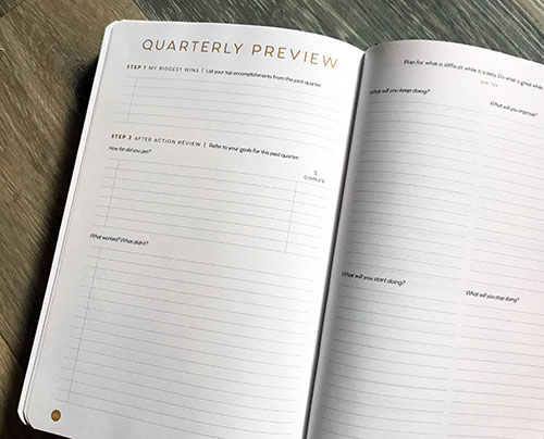 full focus planner small business corner