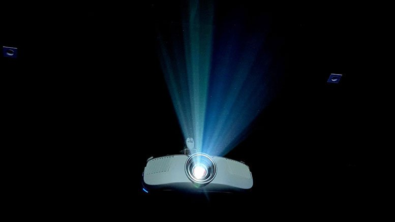 Morive projector. Photo credit: Chirayu Trivedi