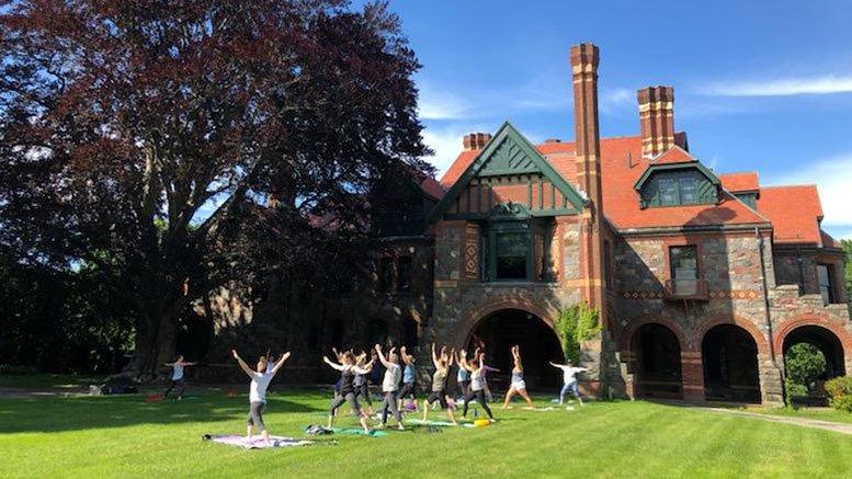 yoga, eustis estate