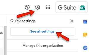 gmail filtering settings