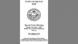 milton town warrant