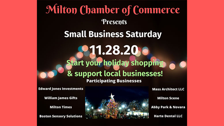 Milton Chamber of Commerce Small Business Saturday