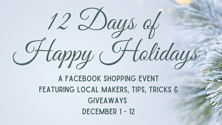 12 days of happy holidays event