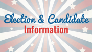 Election and candidate information