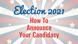 Election 2021: How to announce candidacy