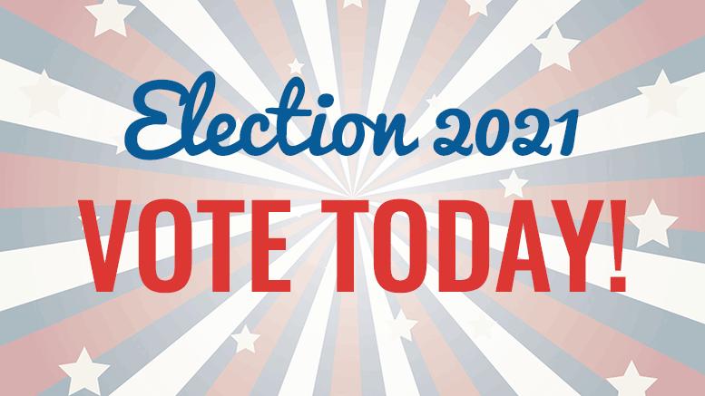 Election 2021 - vote today