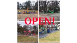 Milton Parks reopened effective January 11