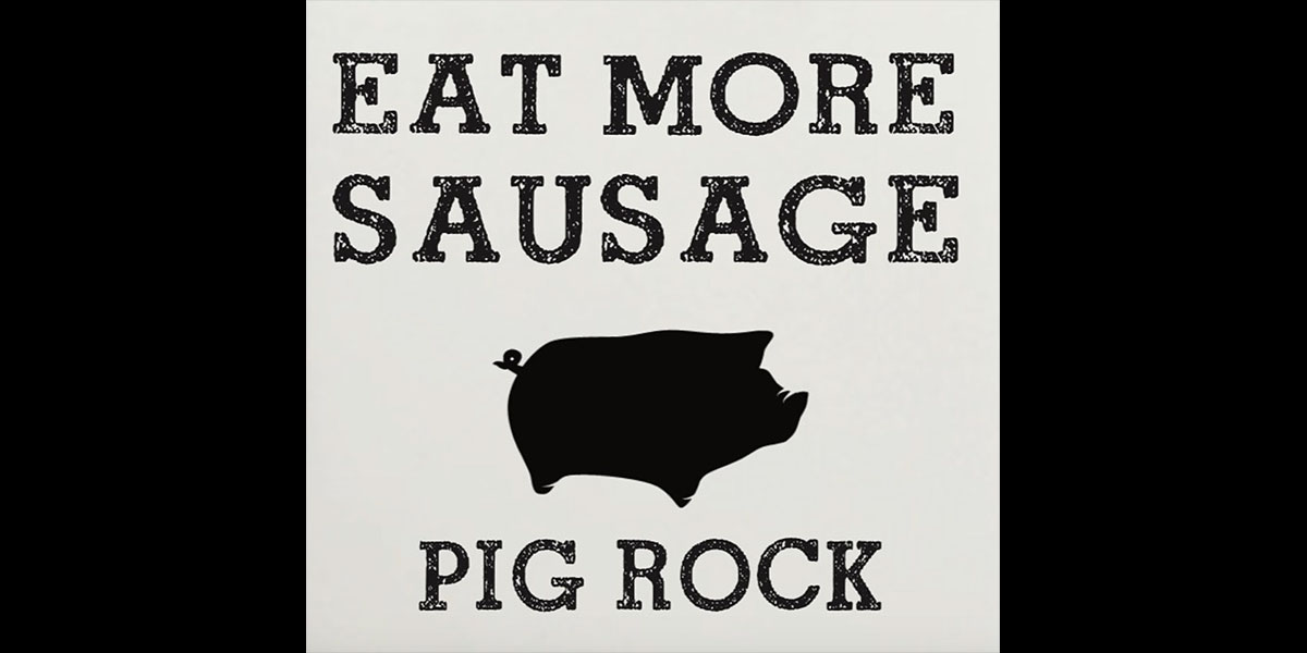 pig rock sausages 0121