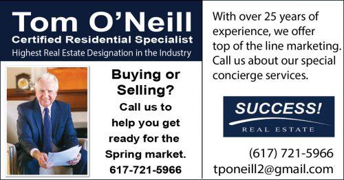 Tom O'Neill real estate