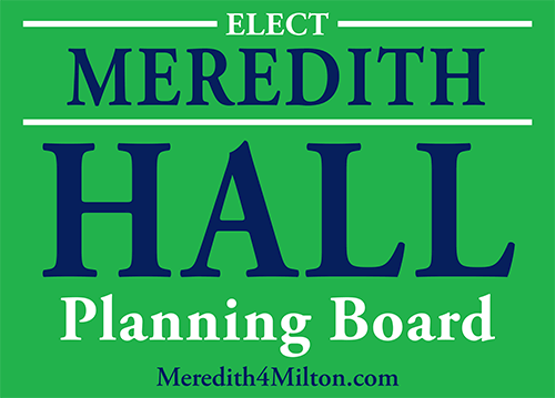 Meredith Hall, Planning Board