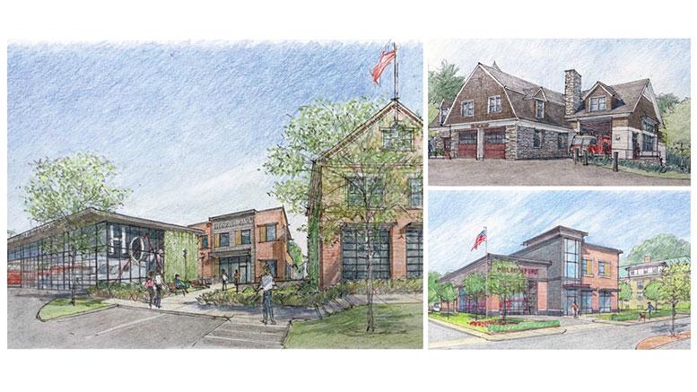 Milton Fire Station proposals
