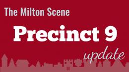 Milton Town Meeting Precinct 9 update