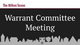 warrant committee meeting