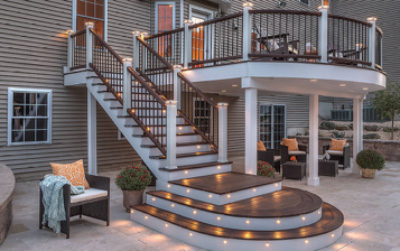 Capital construction trex decking example