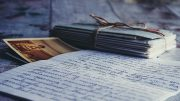 papers with writing on them - for memoirs