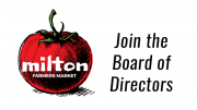 Join the Milton Farmer's Market Board of Directors