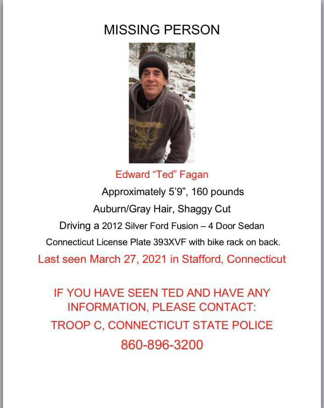 Ted Fagan missing
