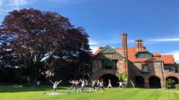 Outdoor Yoga and Meditation at the Eustis Estate on Saturday, June 12, 2021