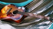 guitar in hammock music