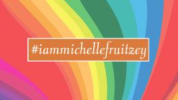 #iammichellefruitzey rainbow graphic